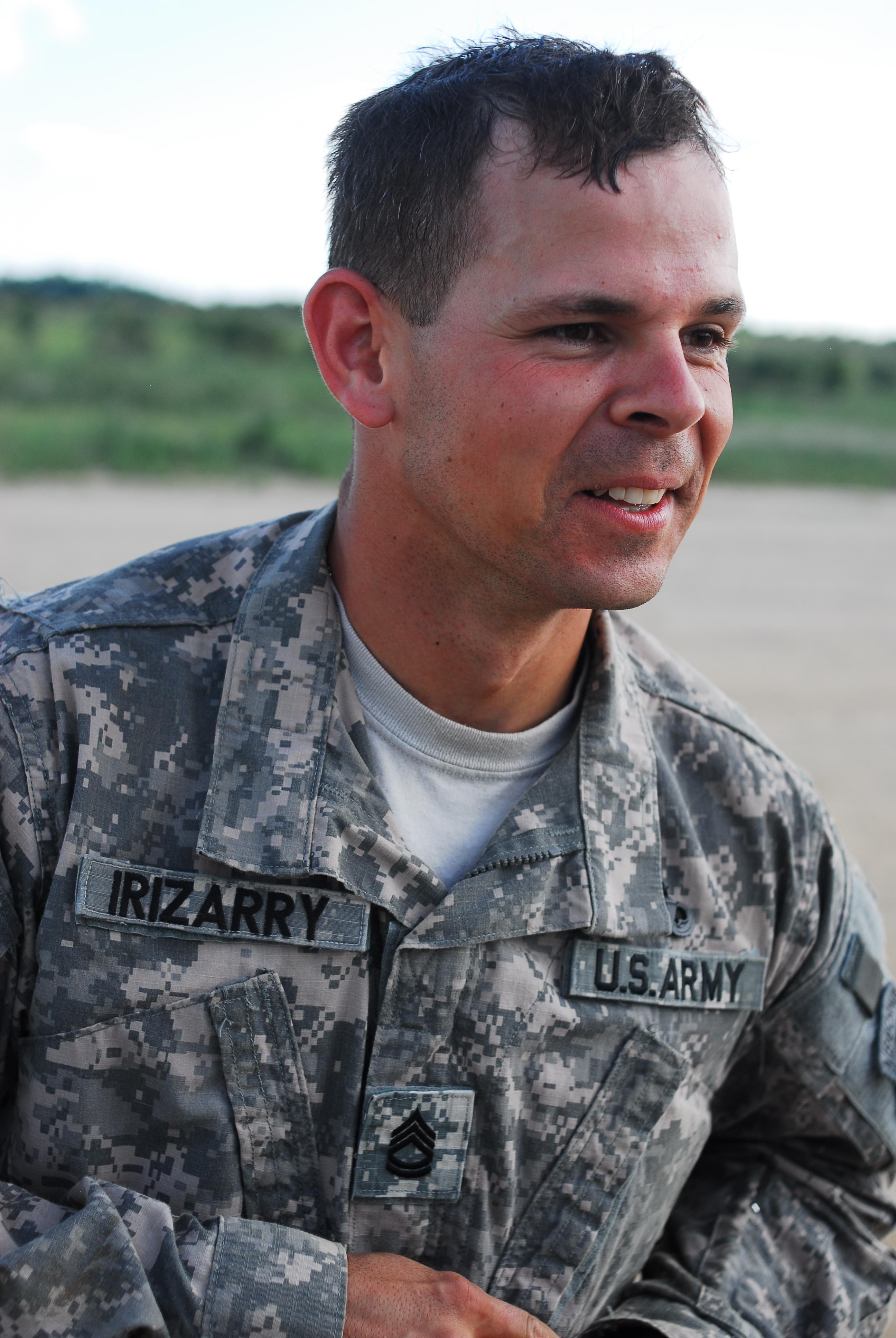 File U S Army Sgt 1st Class Luis Irizarry An Ammunition