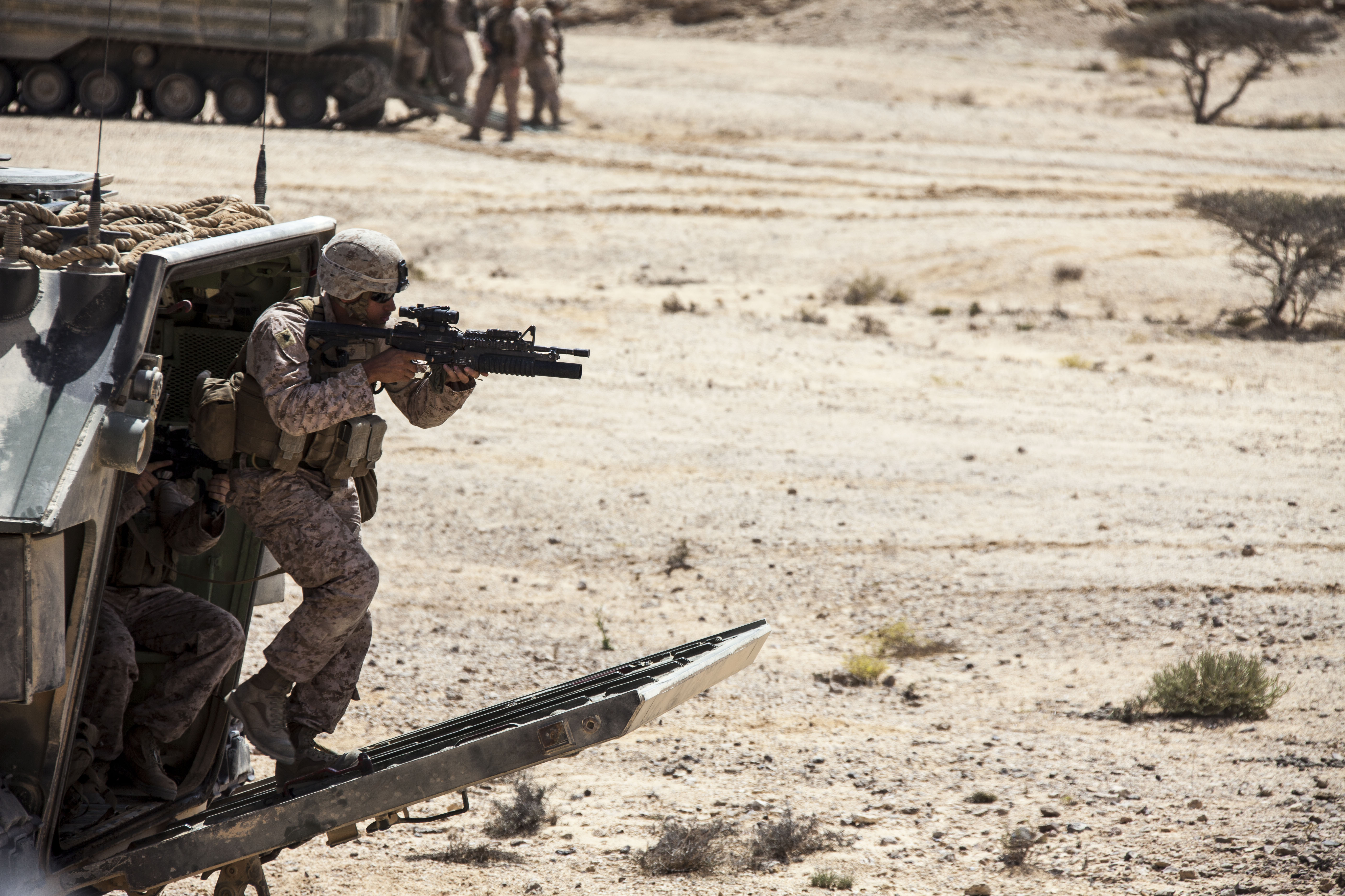 File:U.S. Marine Corps Cpl. Wilbing Torres, a rifleman with the ...
