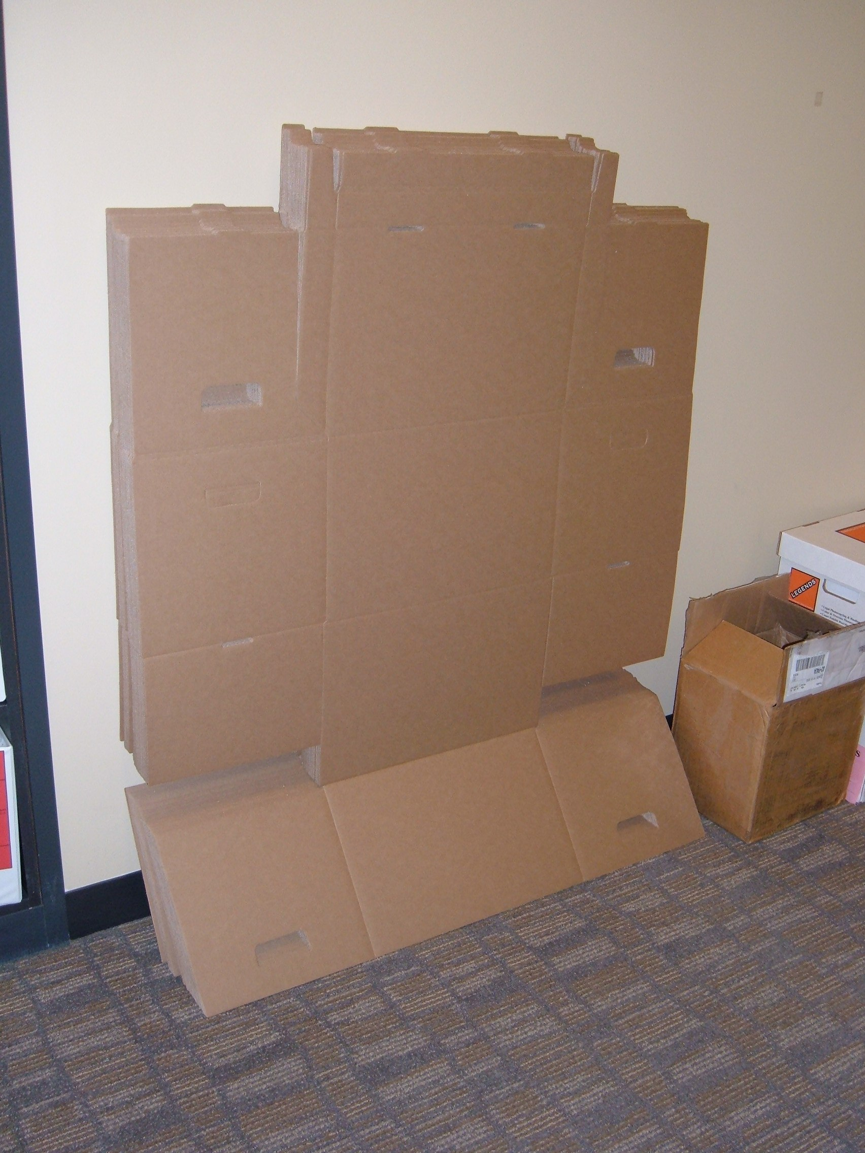 large boxes