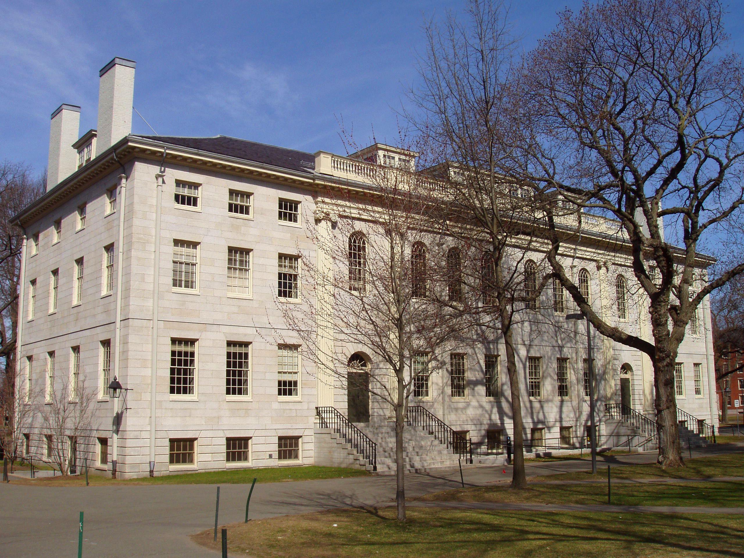 University Hall Harvard