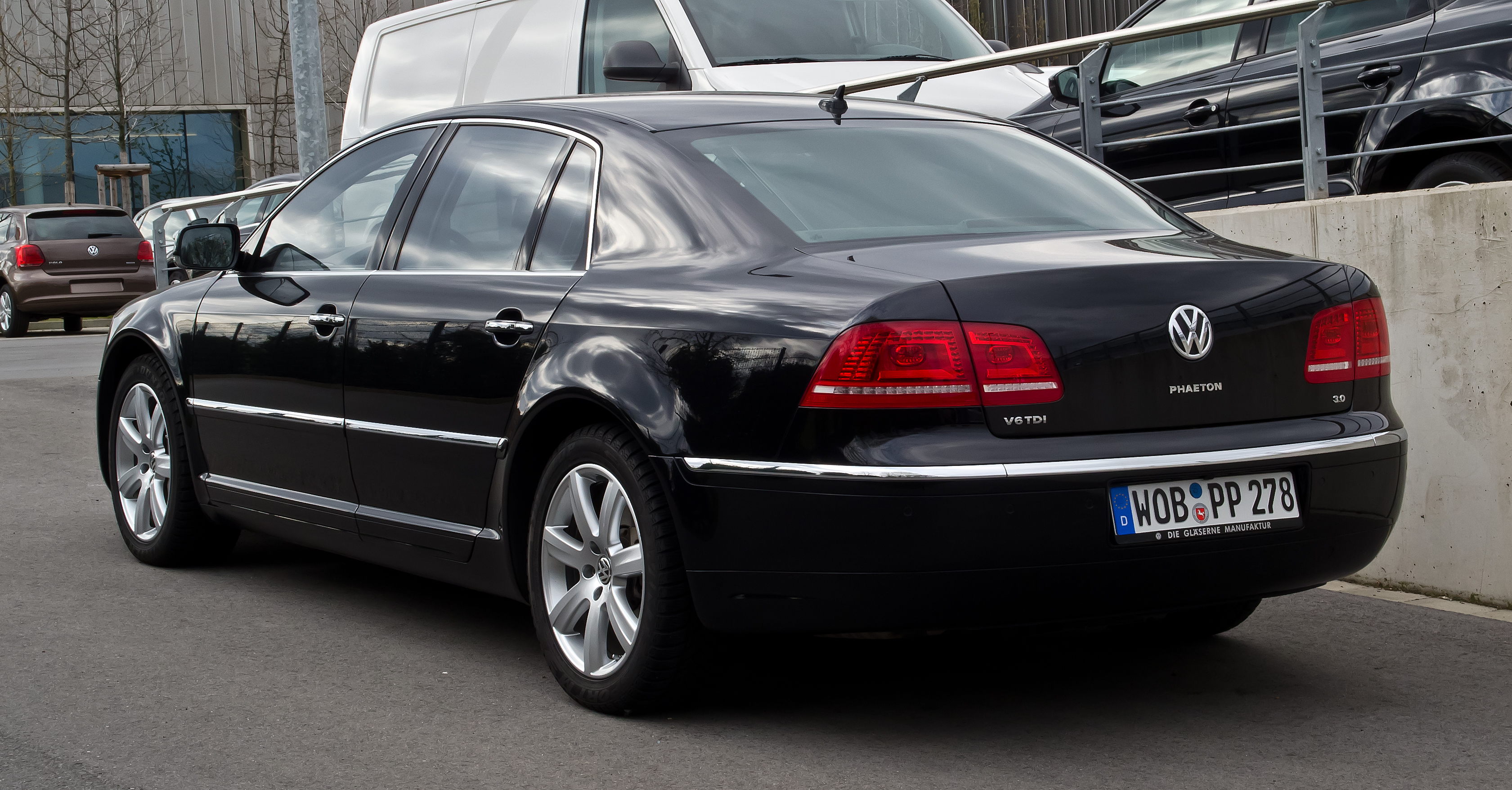 Volkswagen phaeton second facelift