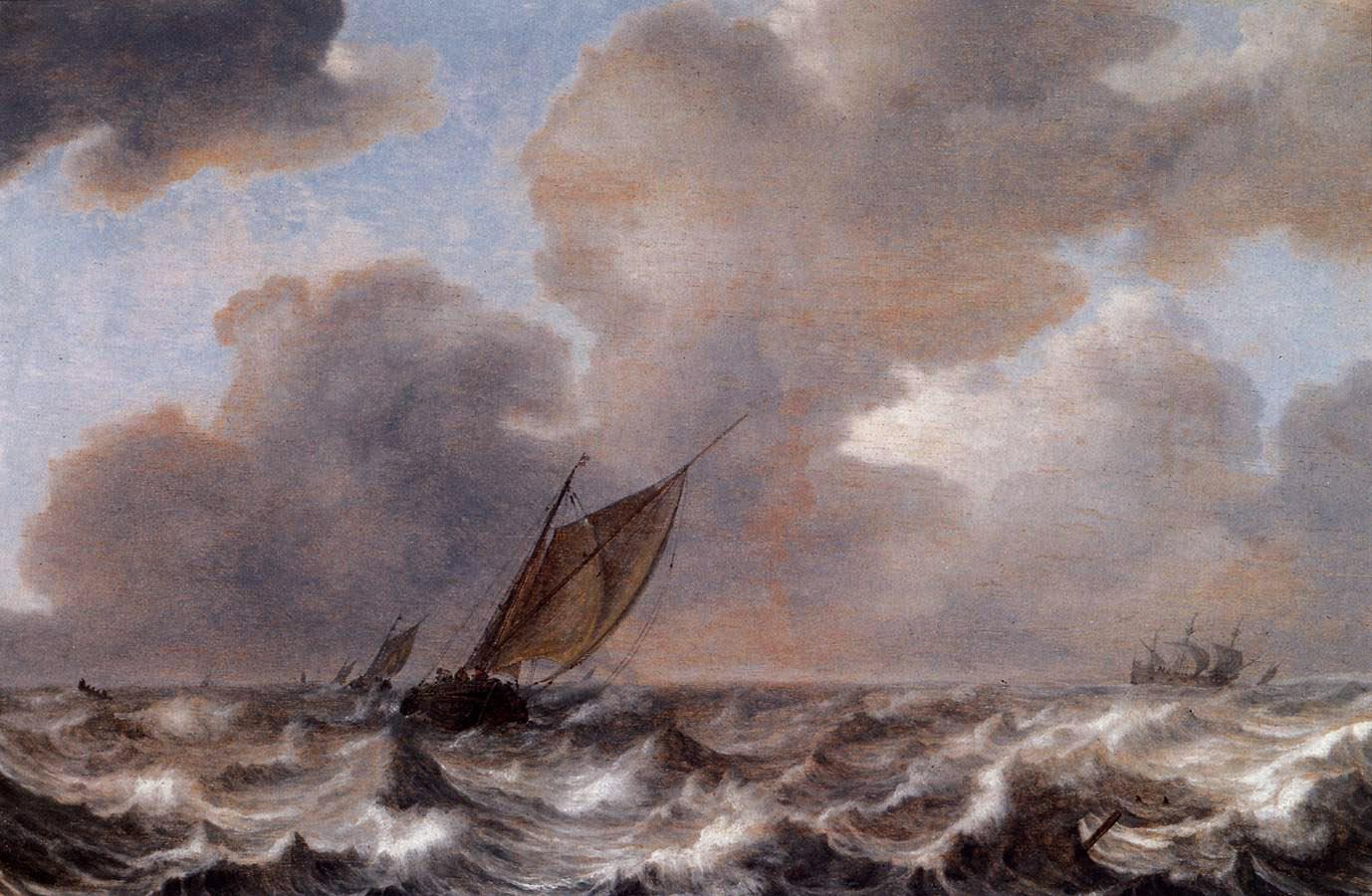 Vessels_in_a_Strong_Wind_1630_Jan_Porcel