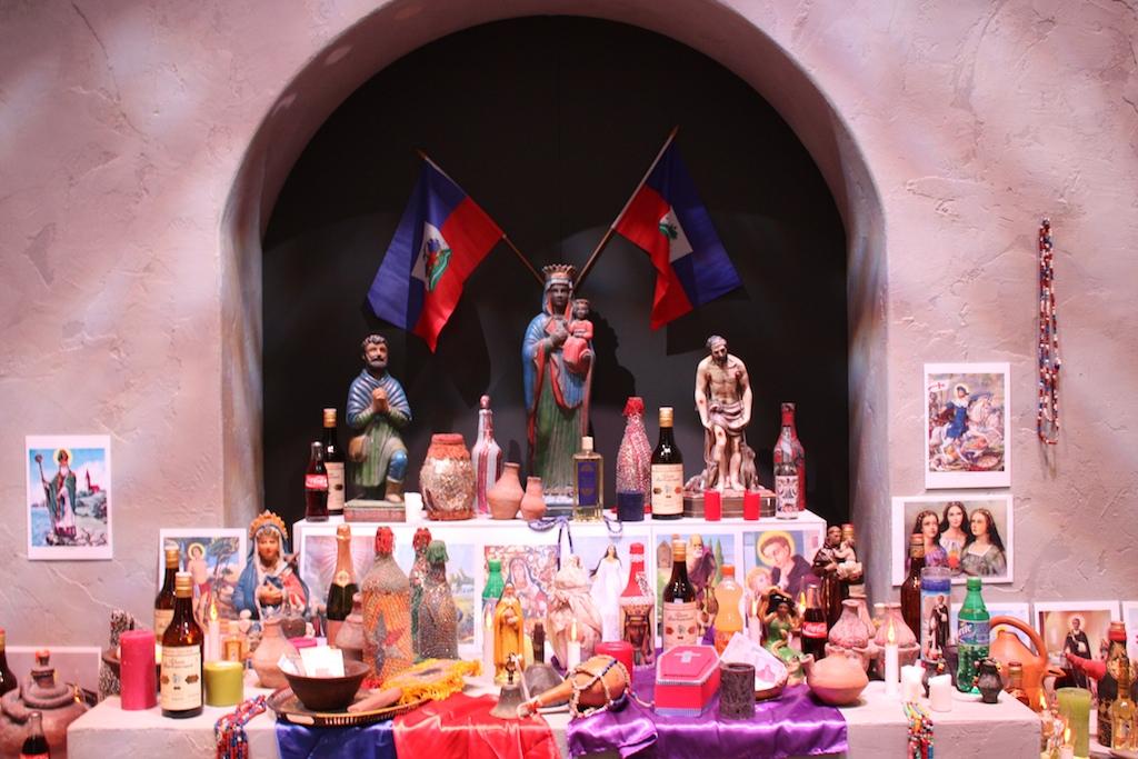 Voodoo altar in Tropenmuseum