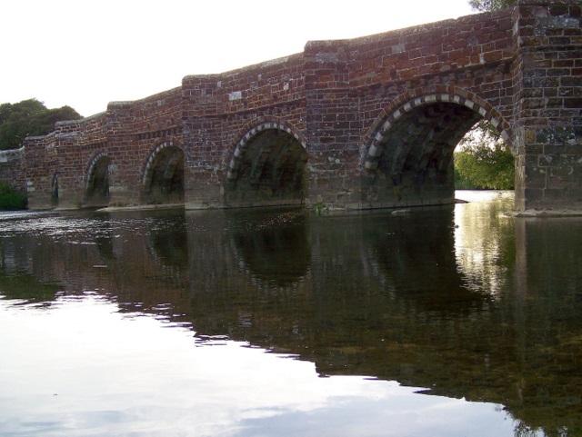 White Mill Bridge, Sturminster Marshall (geograph 2018877)