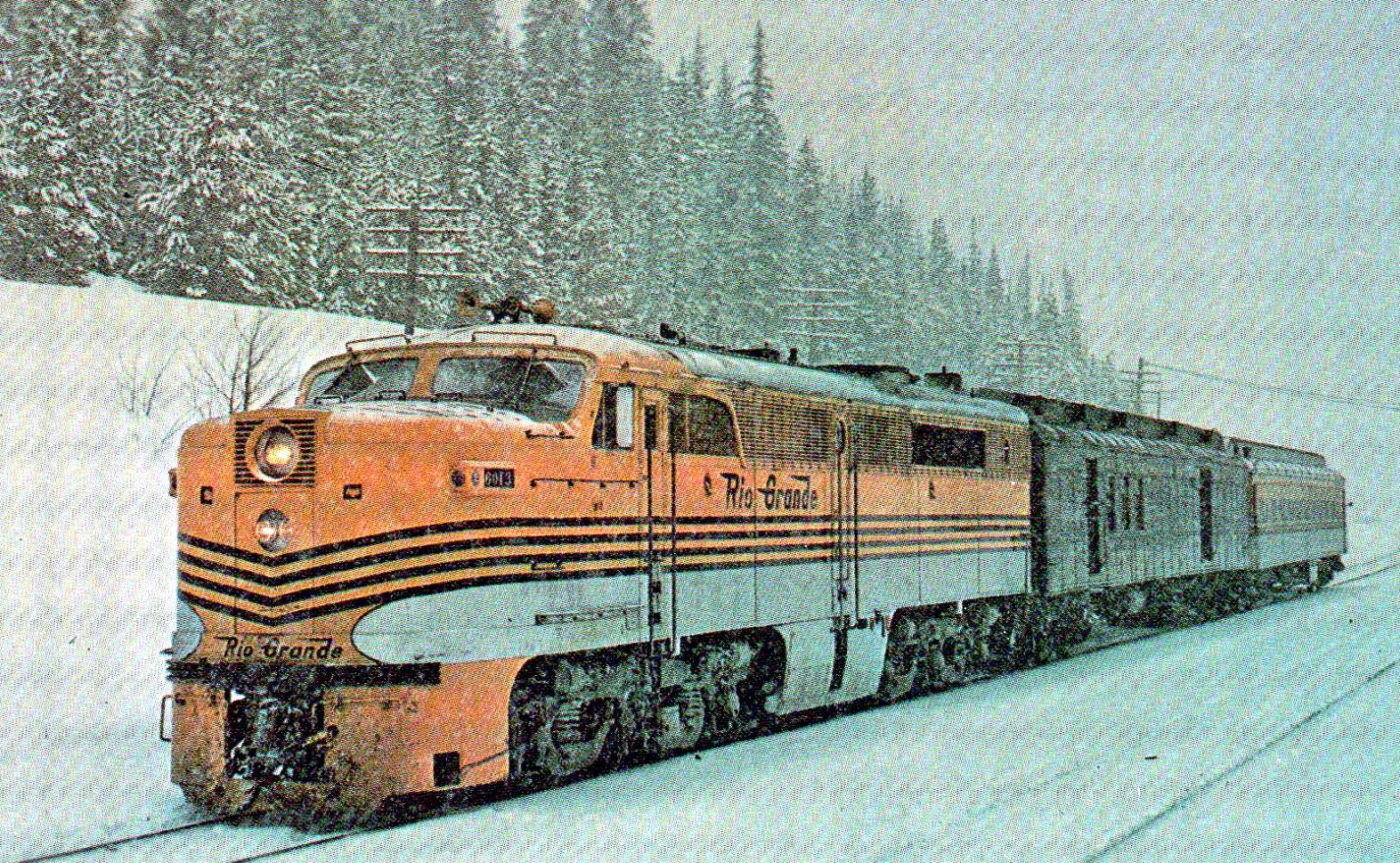 wiki western mail train