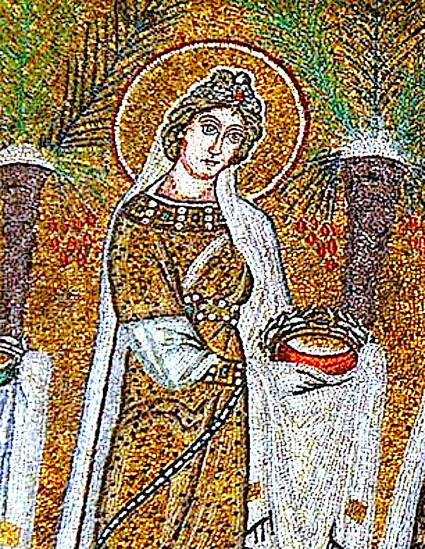 Дева Агния, Римская мученица.