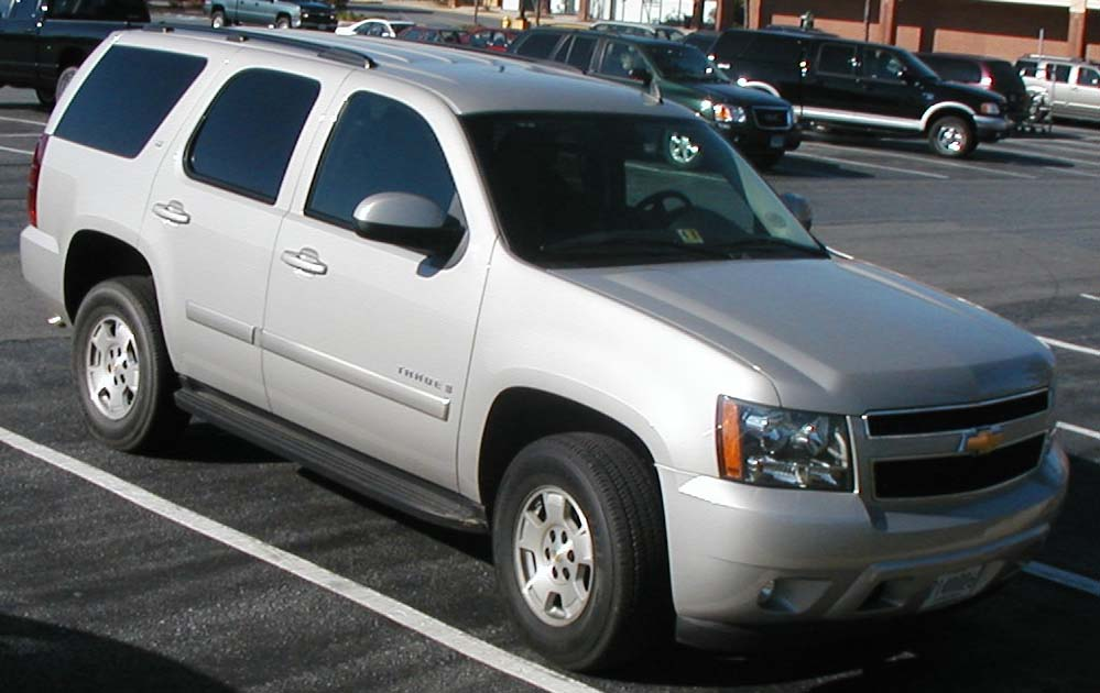 2014 Chevy Tahoe >> File:07-Chevy-Tahoe.jpg - Wikimedia Commons