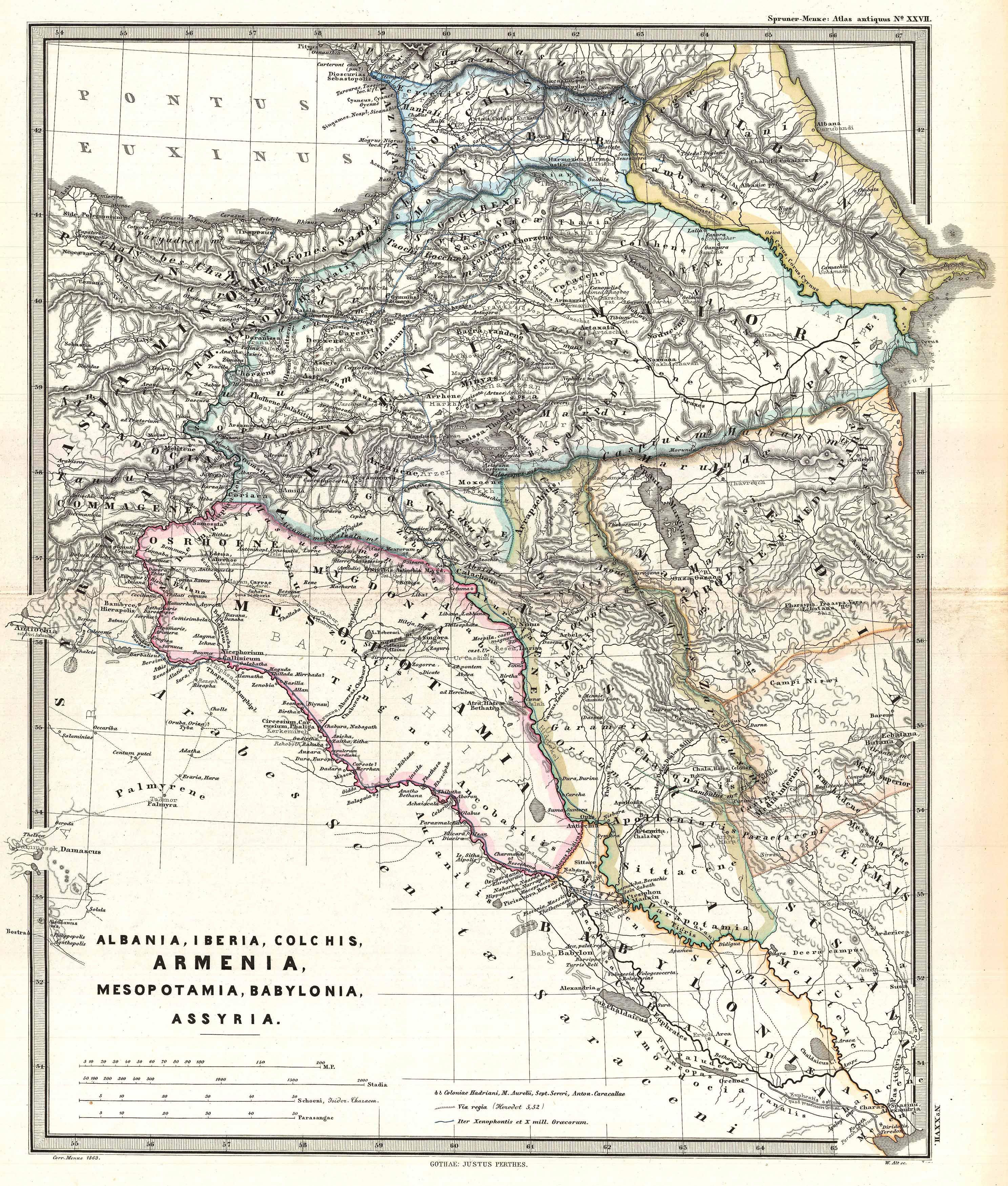 1965_Spruner_Map_of_the_Caucasus_and_Ira
