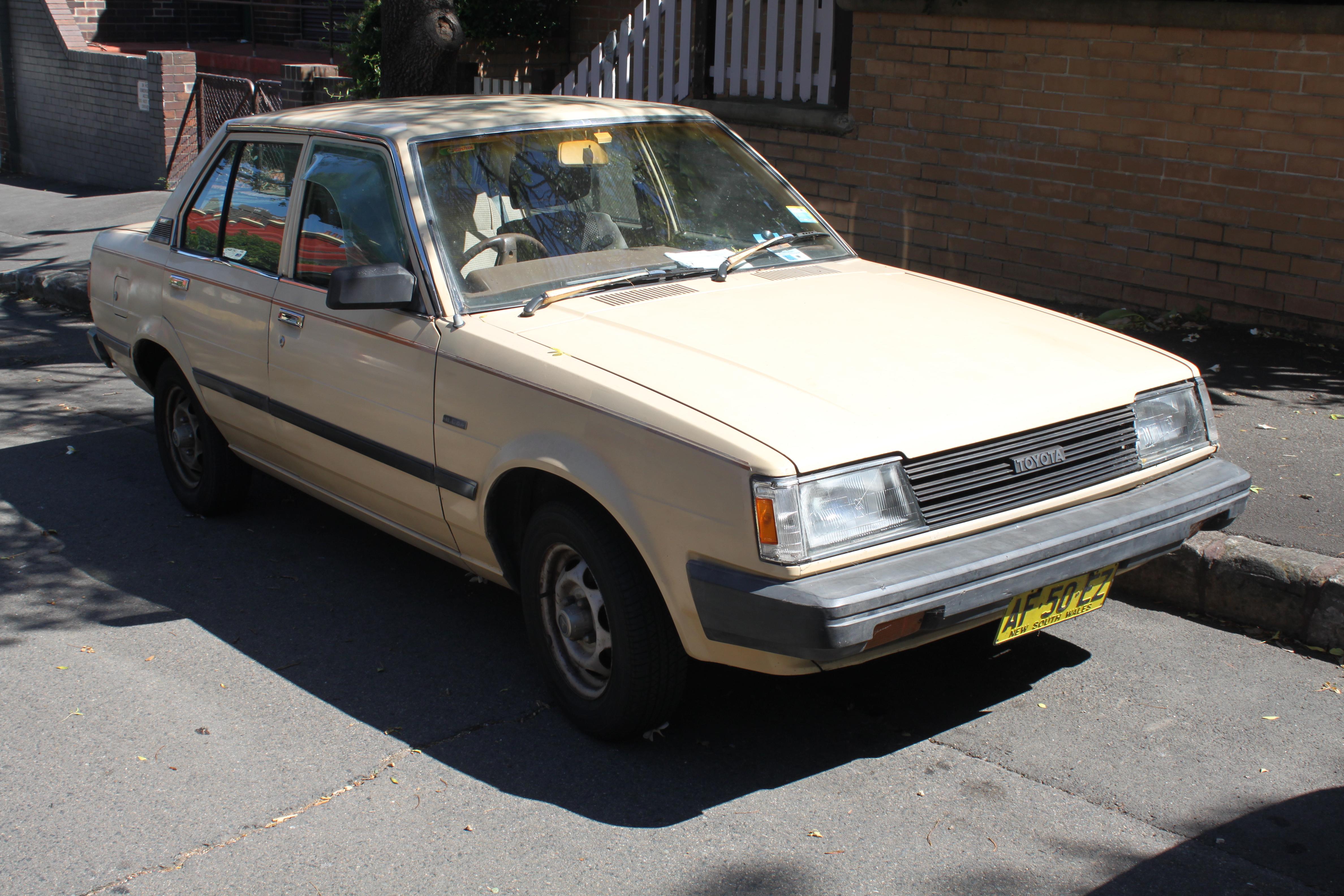 Kelebihan Toyota Corolla 1984 Tangguh