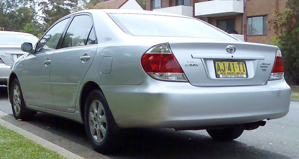 Description 2005-2006 Toyota Camry (MCV36R) Altise Limited sedan 01 ...