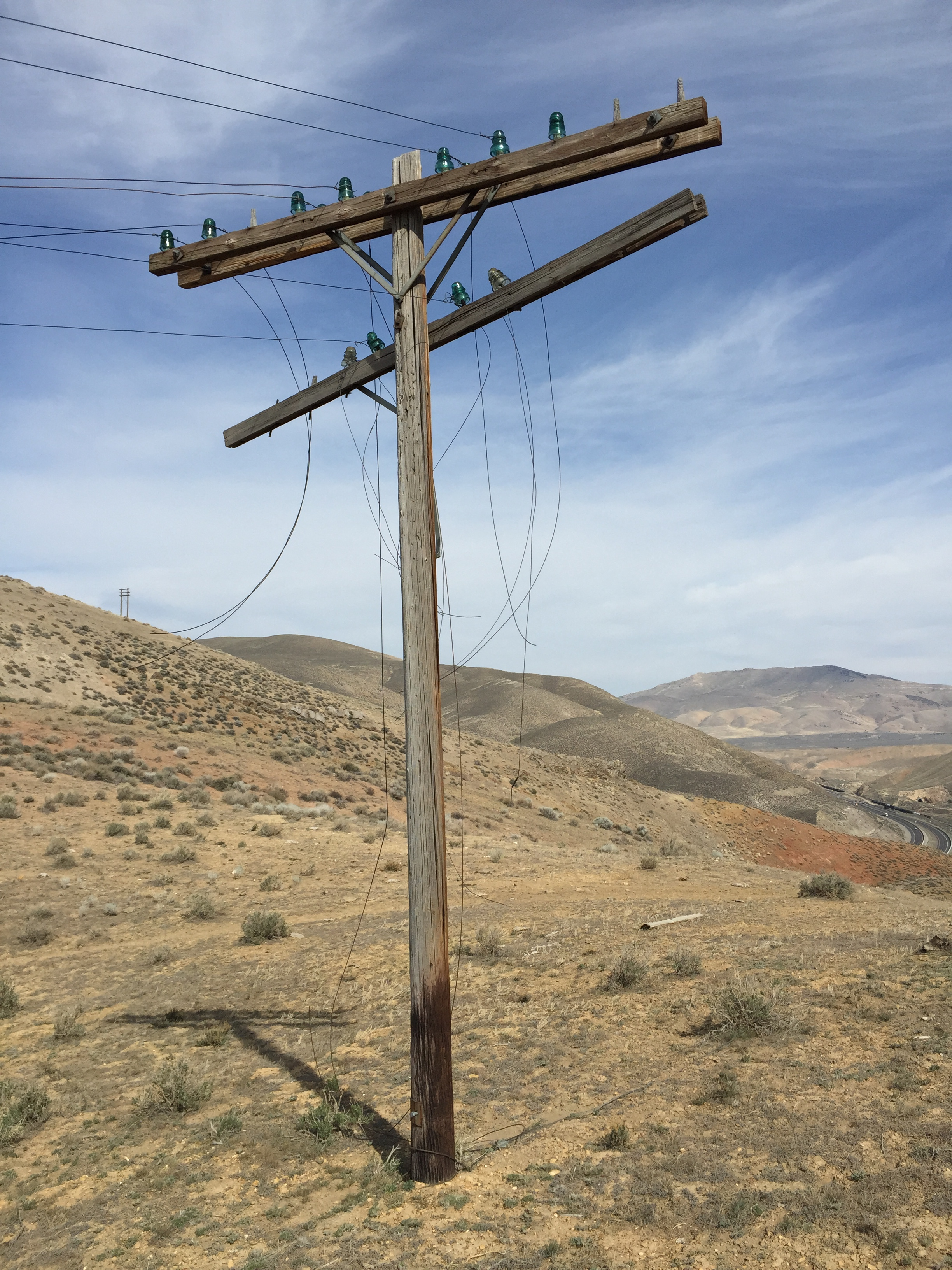 File:2015-04-19 16 03 49 Old telephone pole with broken wires ...