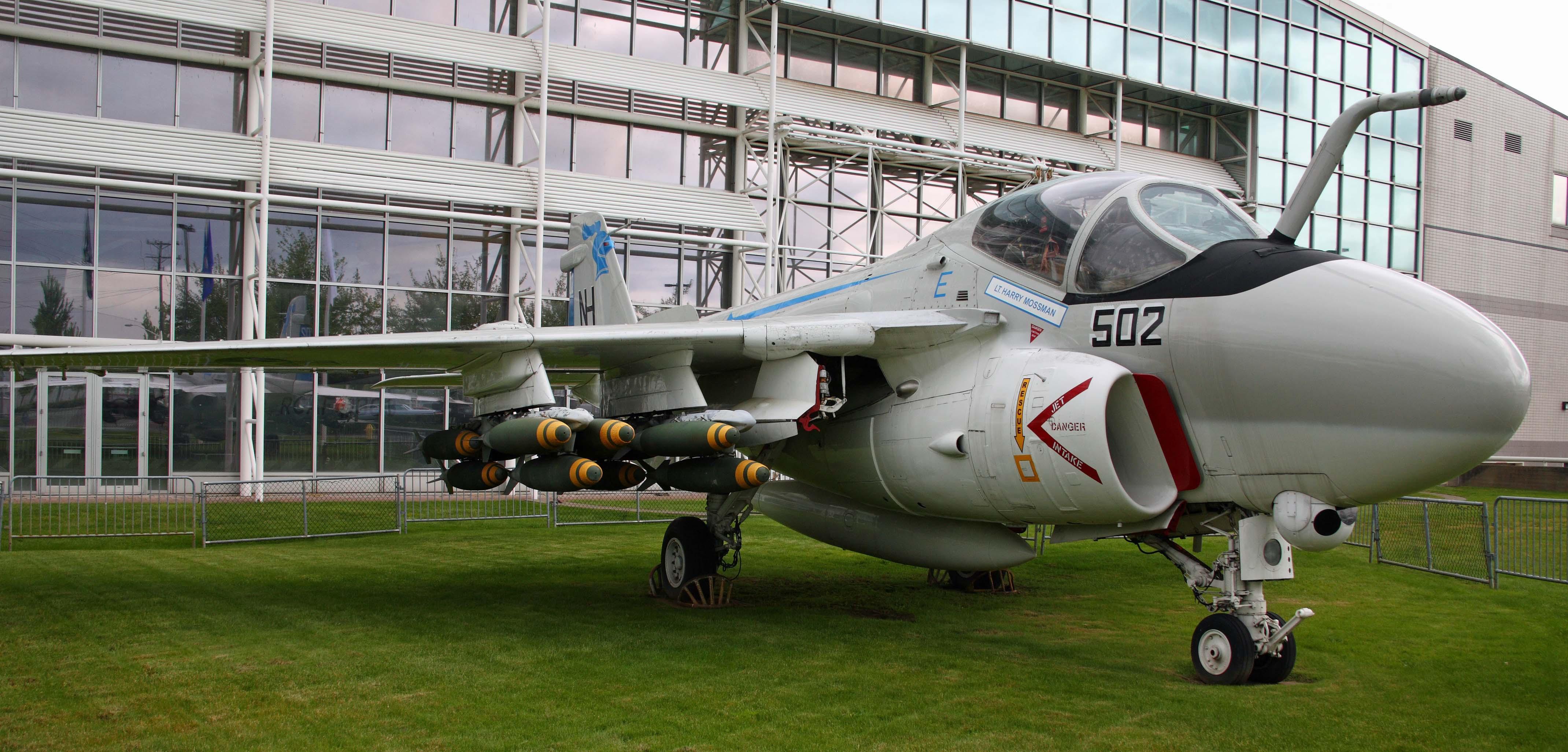 Description A-6 Intruder at the Museum of Flight.jpg