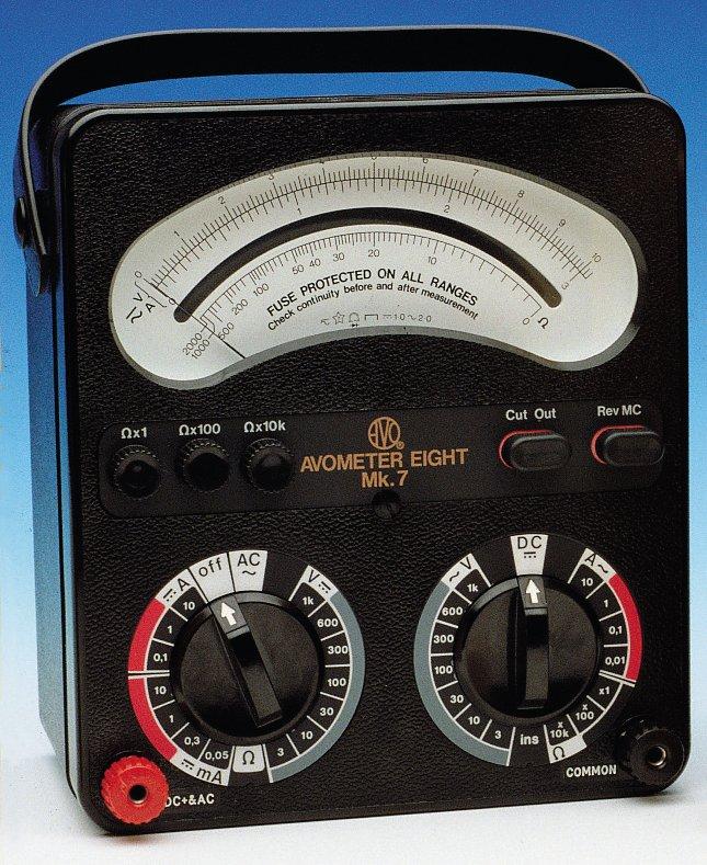 First Analog Meter : Avometer wikipedia