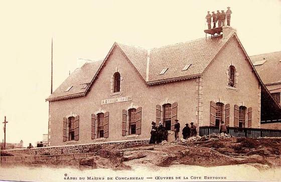 Ancien Abri Du Marin  Concarneau   U2014 Wikip U00e9dia