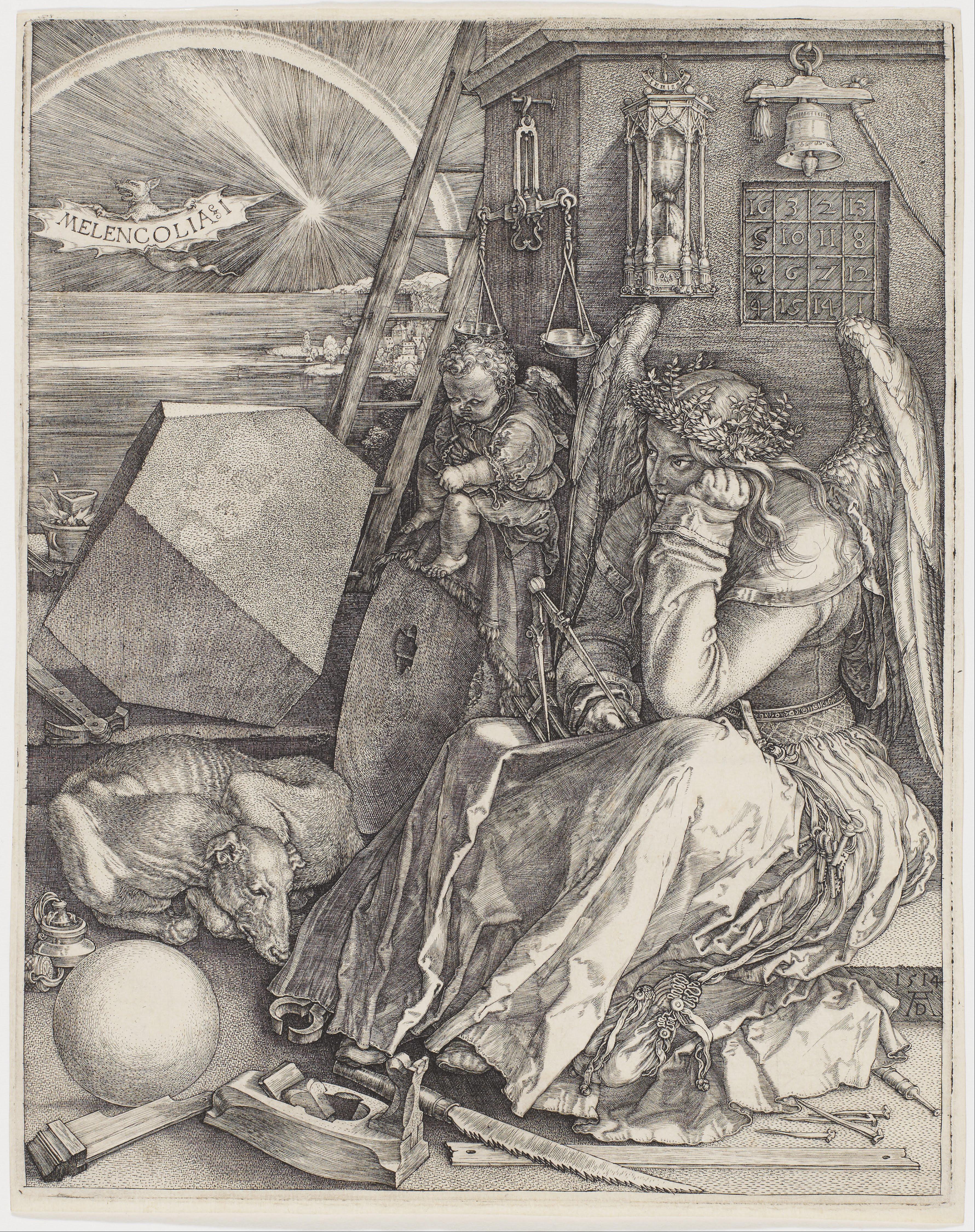 1514 >> Melencolia I Wikipedia