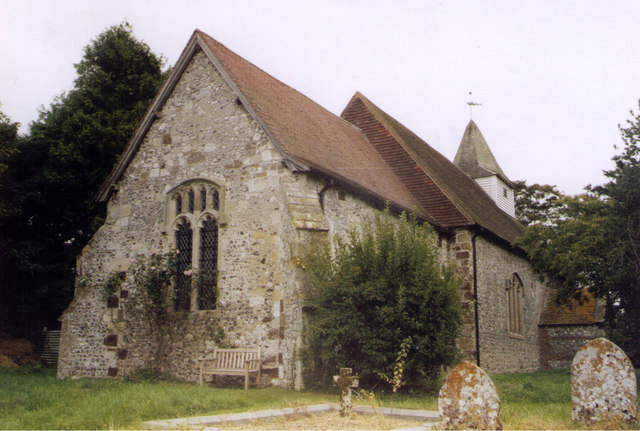 Alciston Church - geograph.org.uk - 1595235