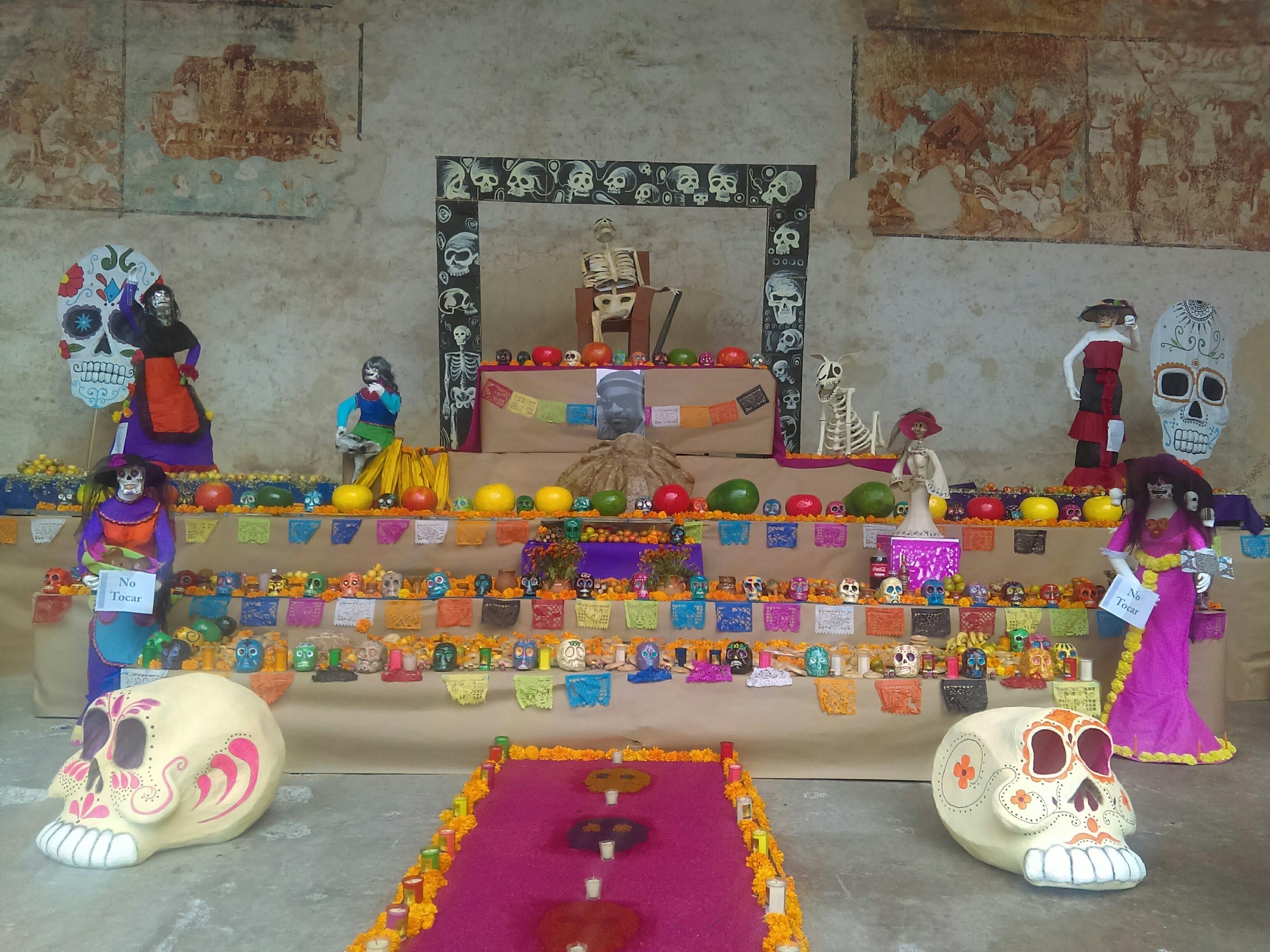 File Altar De Dia De Muertos En Actopan Hidalgo Mexico 2018 13