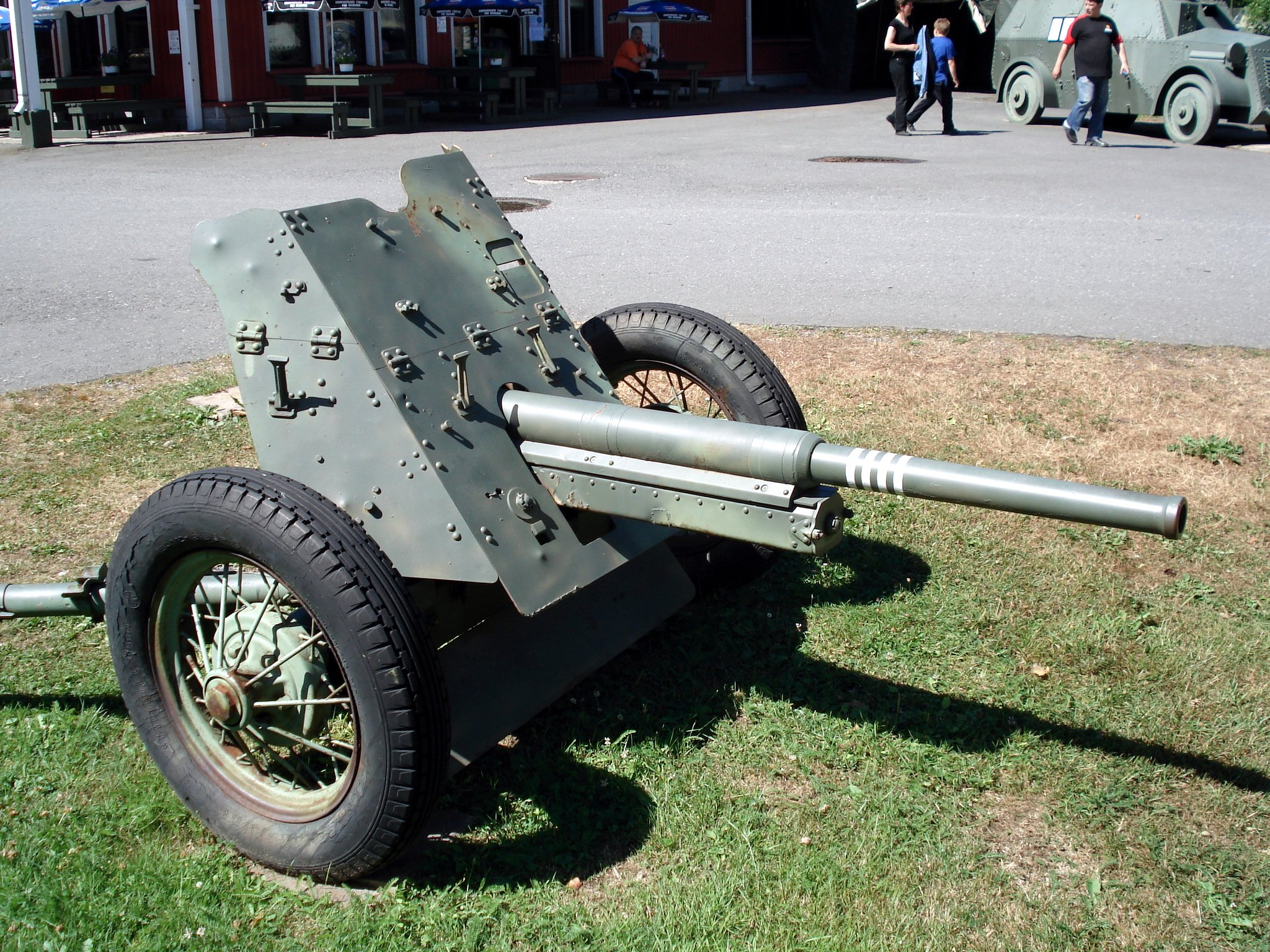 German 50 Mm Anti Tank Gun: File:Anti-tank Gun 45mm M1937 Parola 7.jpg