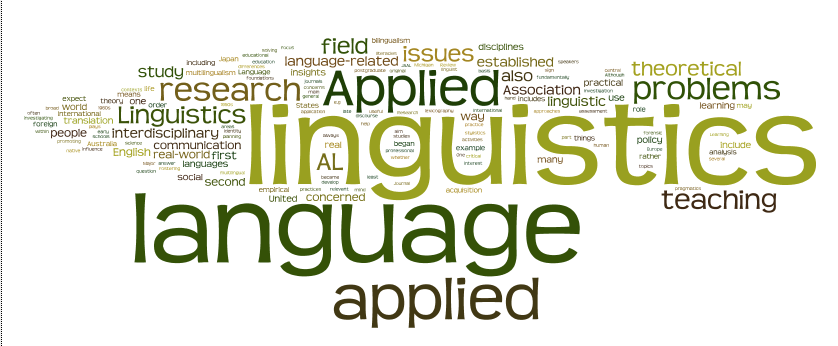 applied linguistc The department of applied linguistics offers courses leading to the ma degree in applied linguistics (with specialization in tesl) both direct entry and bridged entry options are available please refer to the graduate calendar for details.