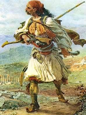 Depiction of Armatoles