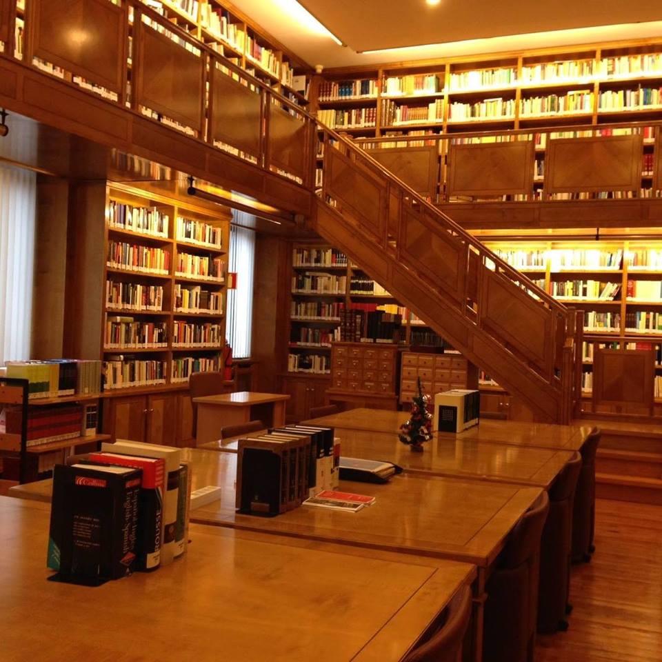 Biblioteca de la junta general del principado de asturias for Partes de una biblioteca