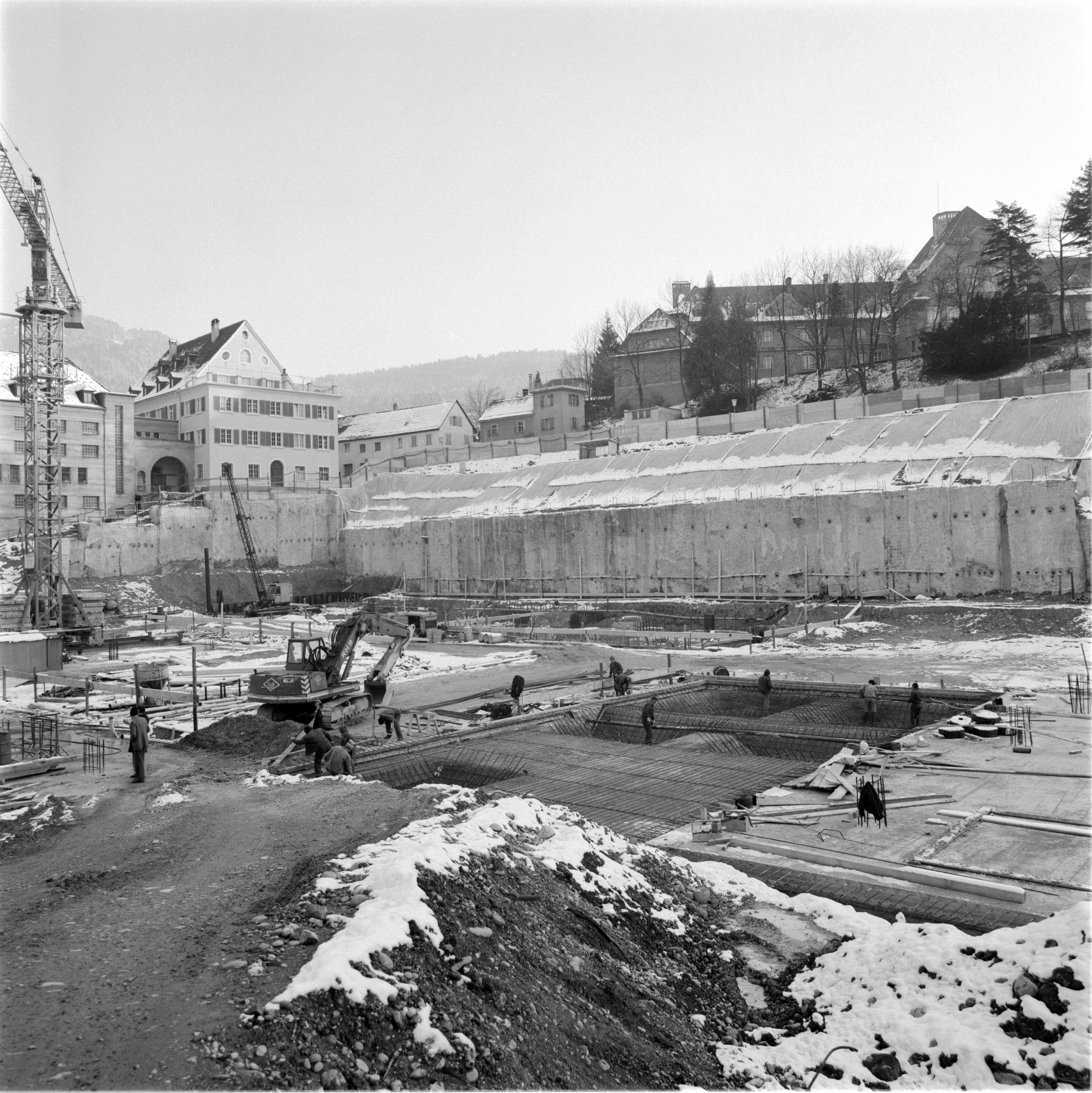 File:Baustelle Landhaus Bregenz 1977