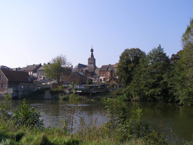 The Sambre river