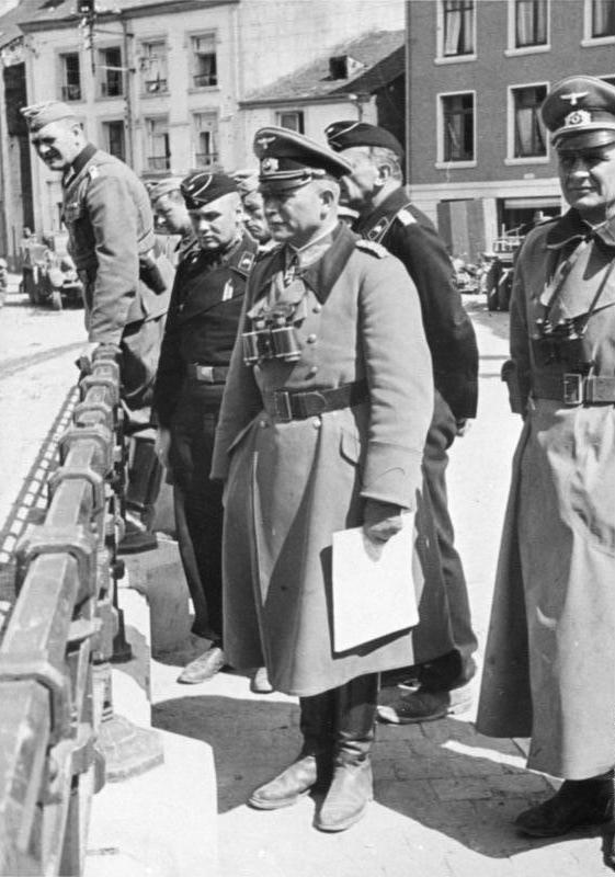 General Guderian in Bouillon