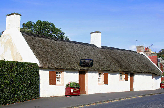 Image result for Burns Cottage at Alloway