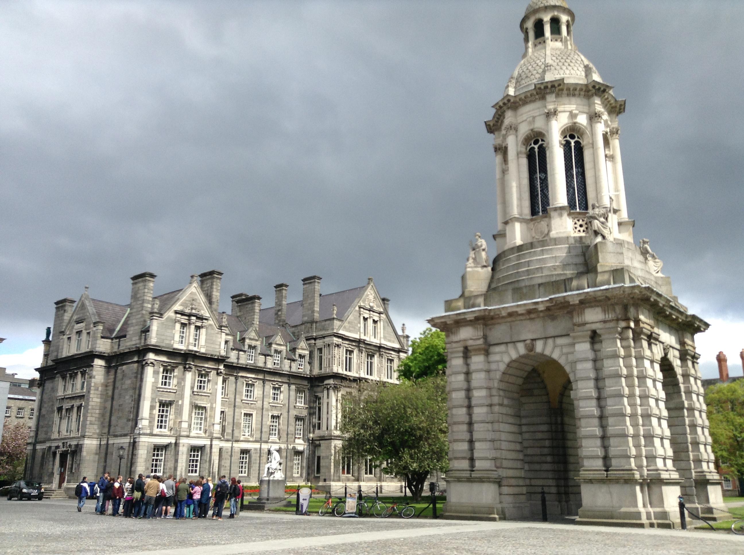 Campanile at Trinity College Dublin