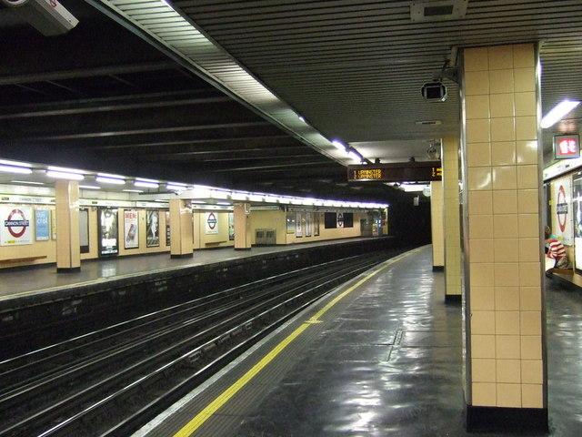 Cannon Street underground station, EC4 - geograph.org.uk - 830285
