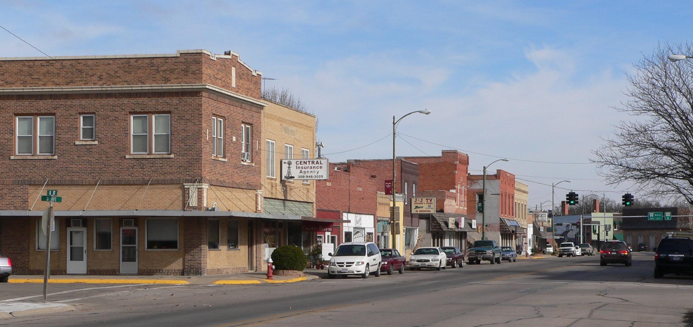 City Line Avenue >> File:Central City, Nebraska G St from D Ave 2.JPG ...