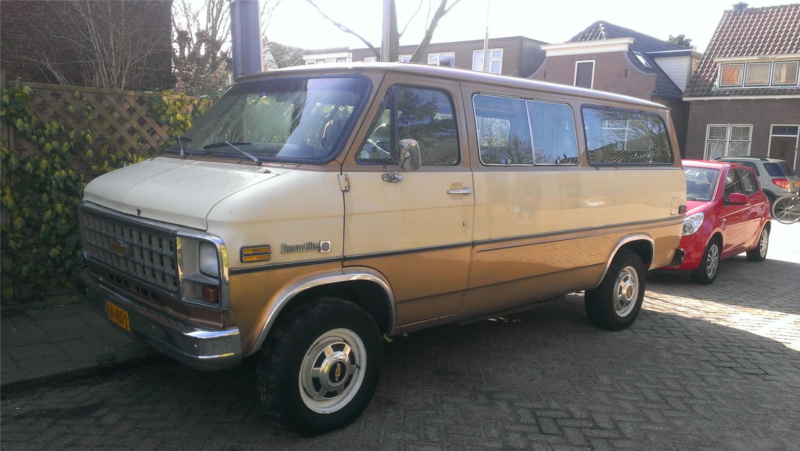 Chevrolet Sportvan Beauville on 1989 Dodge Ram Van