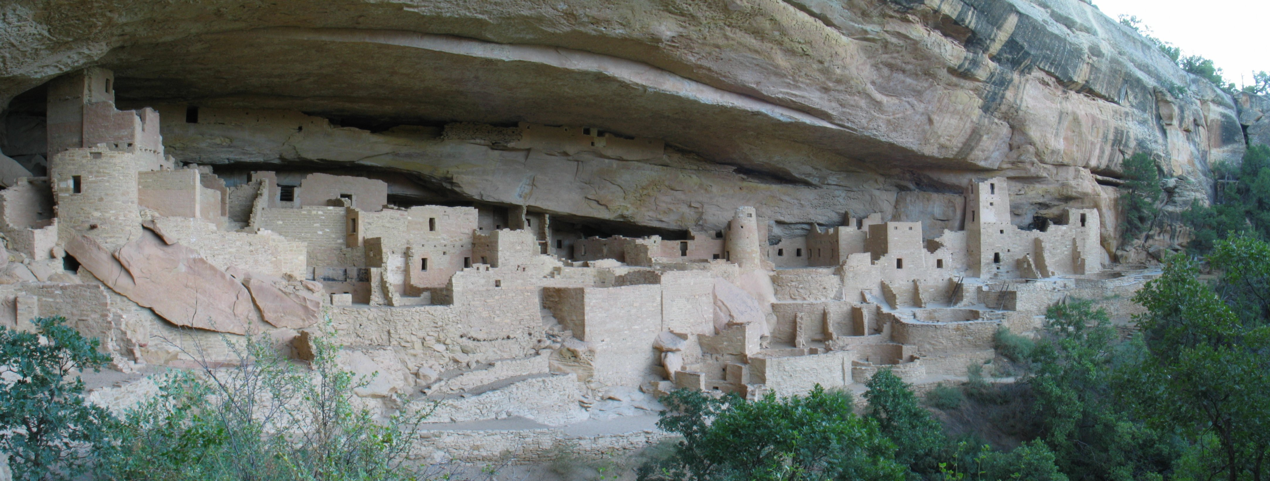 Cliff Palace at Mesa Verde taken by Ben Frantz Dale