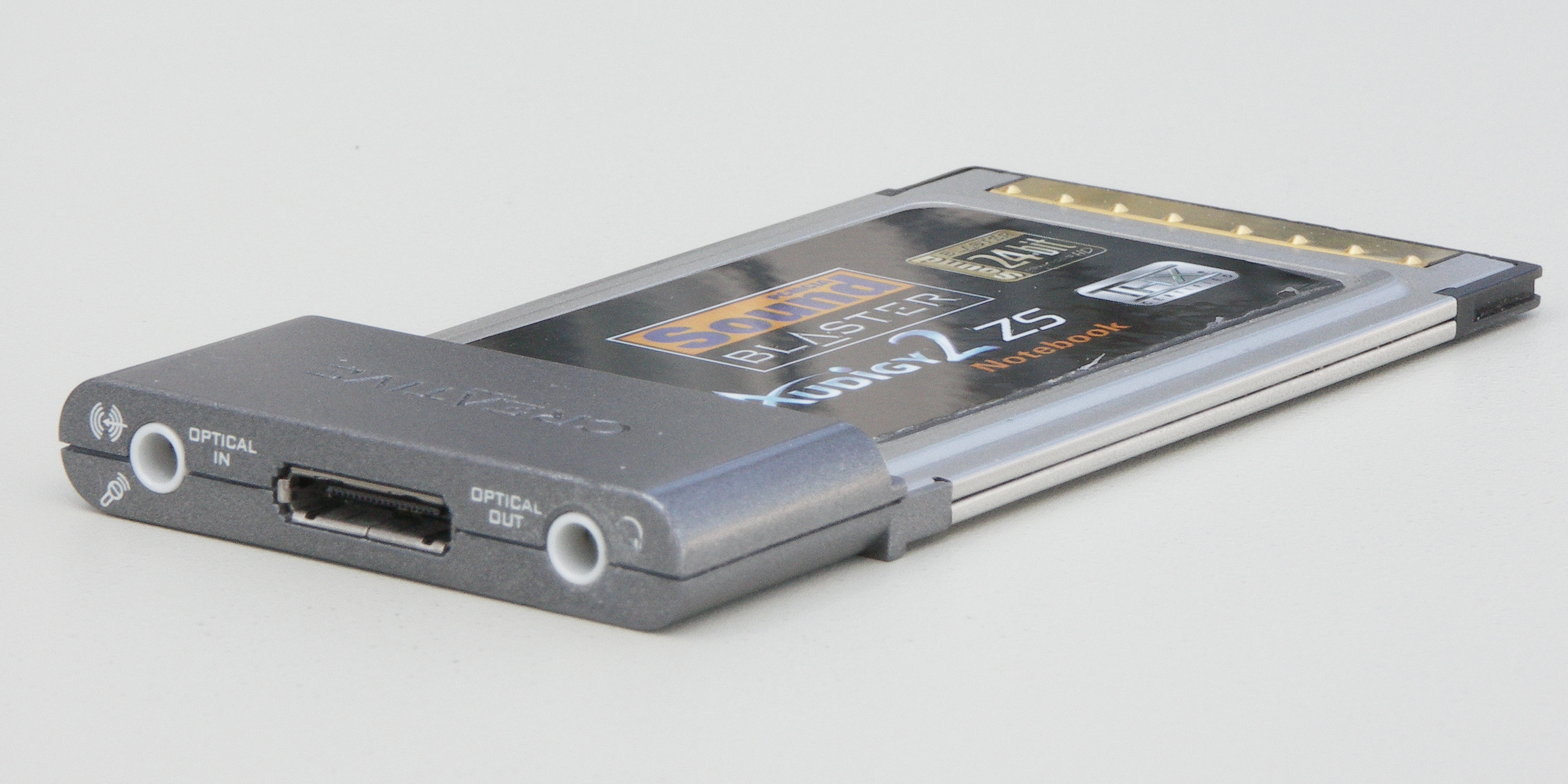Creative Sound Blaster Audigy 2 ZS Notebook PCMCIA Windows 8