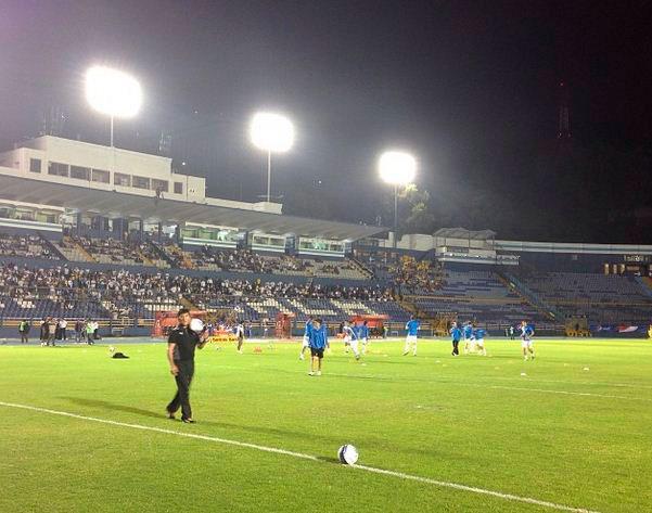 Estadio Nacional Mateo Flores, de la Ciudad de Guatemala