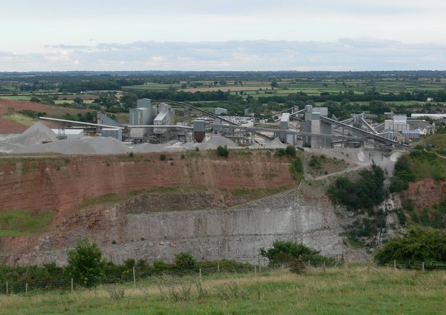 Croft Quarry, Leicestershire - geograph.org.uk - 511698