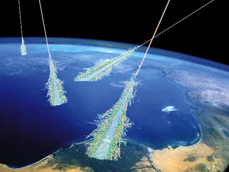 Resultado de imagen de La radiación cósmica incompatible con la vida