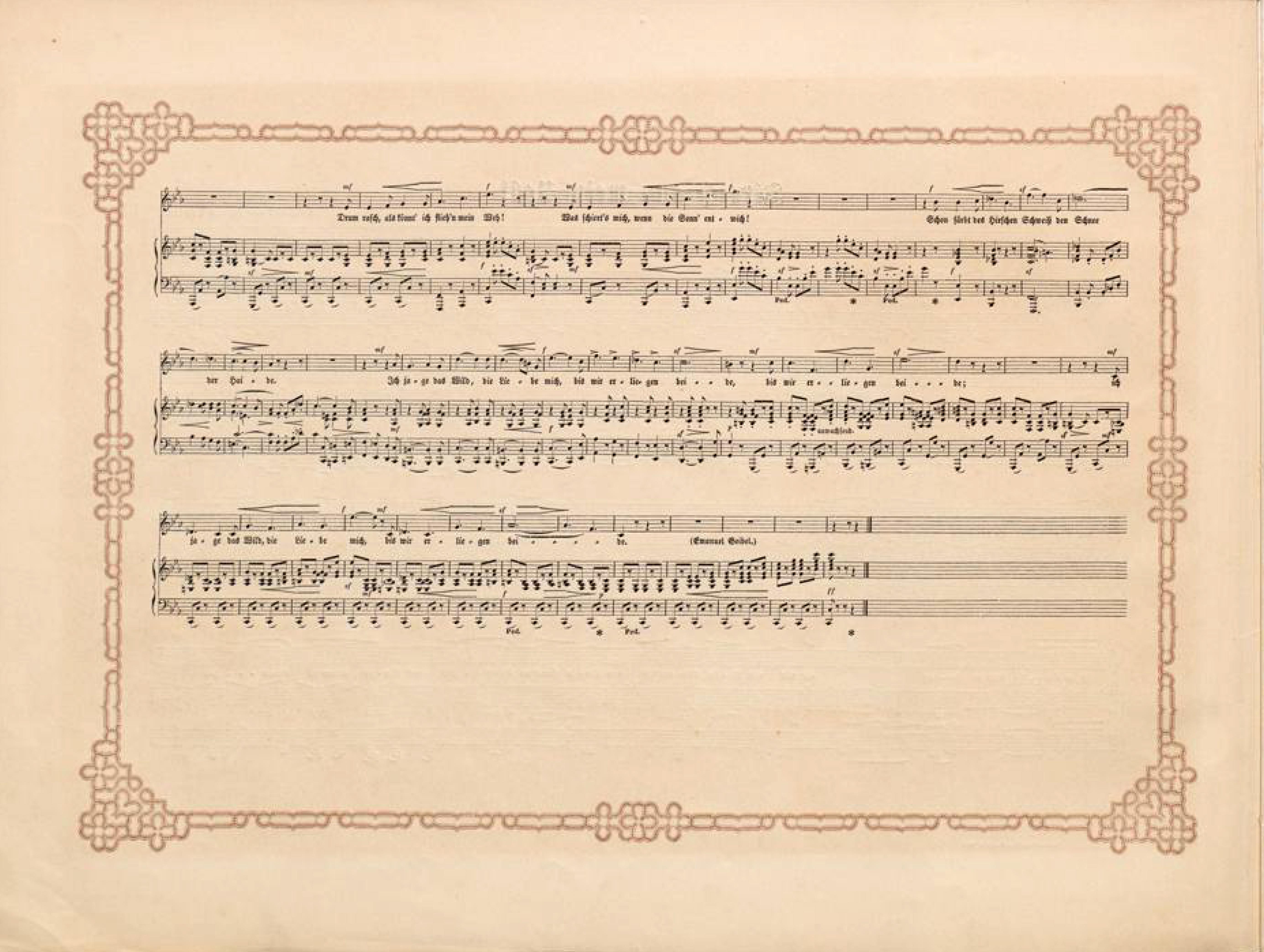 Filedüsseldorfer Lieder Album Arnz Co 1851 S 20