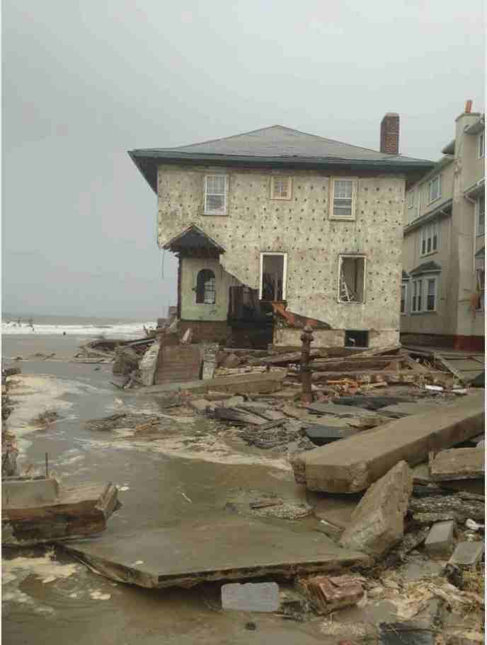 Did Hurricane Sandy Destroy Coney Island