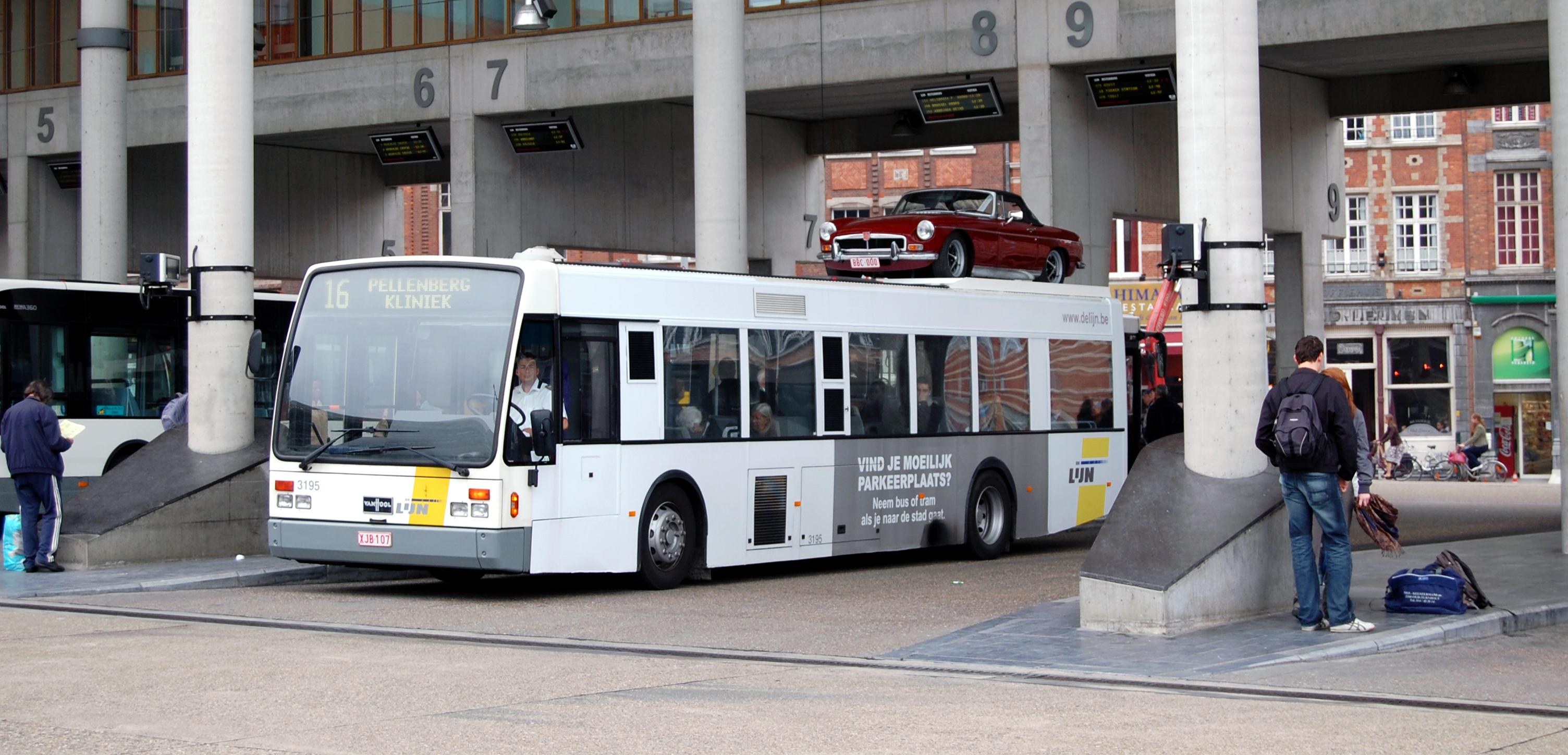 hoeveel stoelen heeft een bus