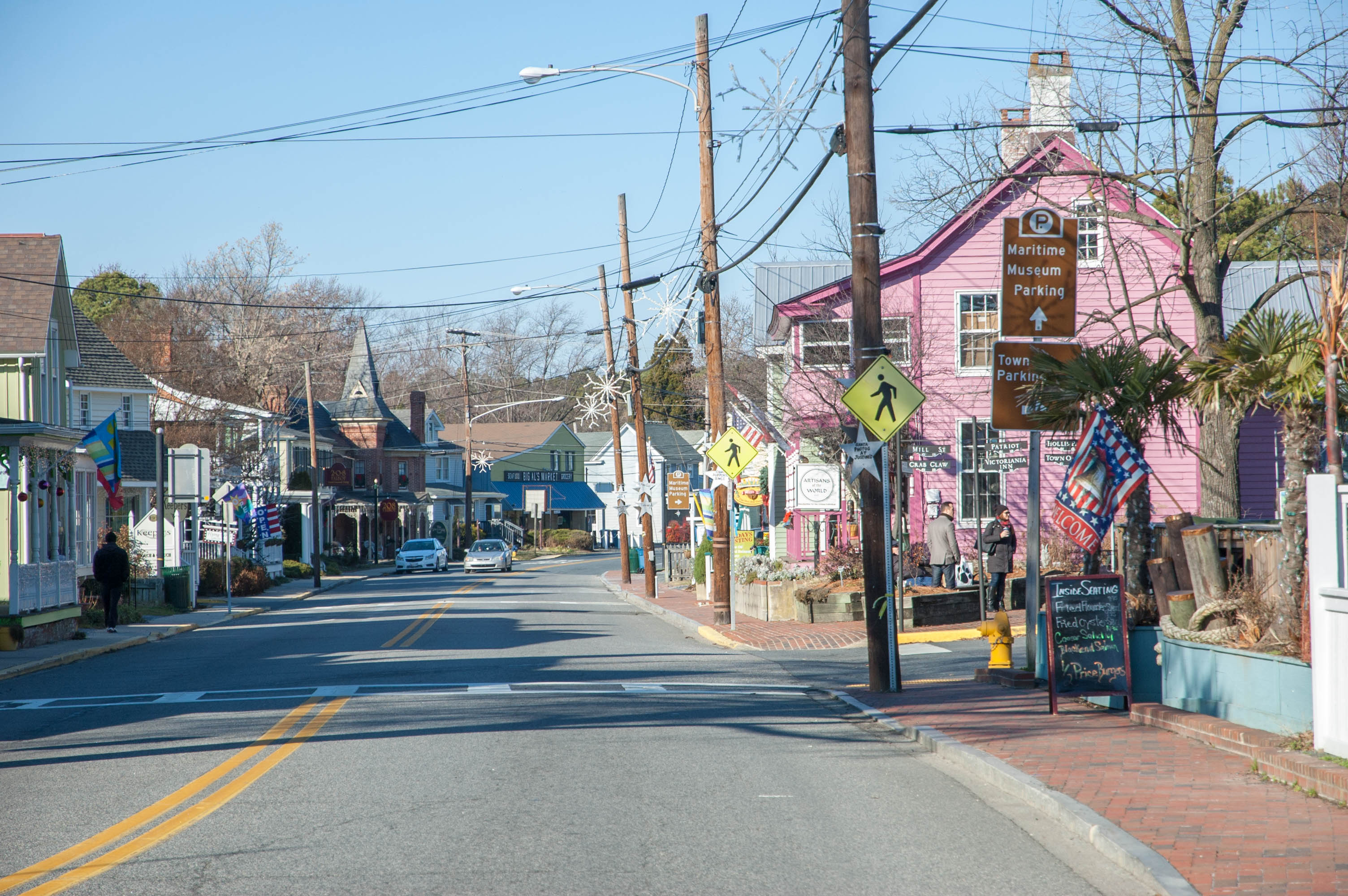 Downtown Saint Michaels on