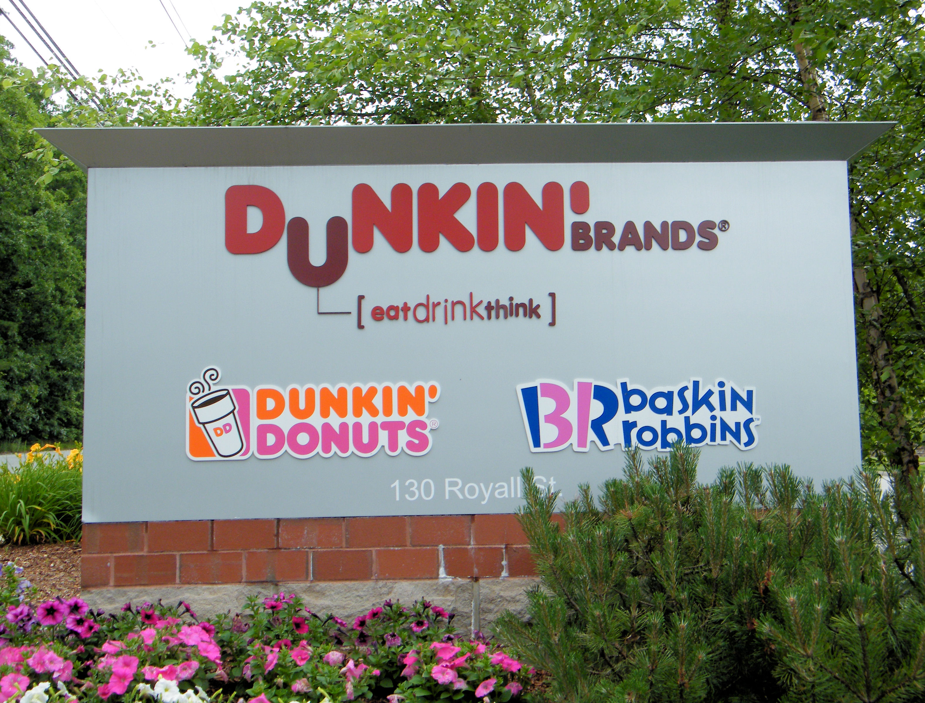 Dunkin' Donuts and Baskin-Robbins Signs