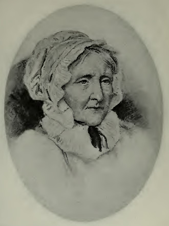 Charcoal sketch of Elizabeth