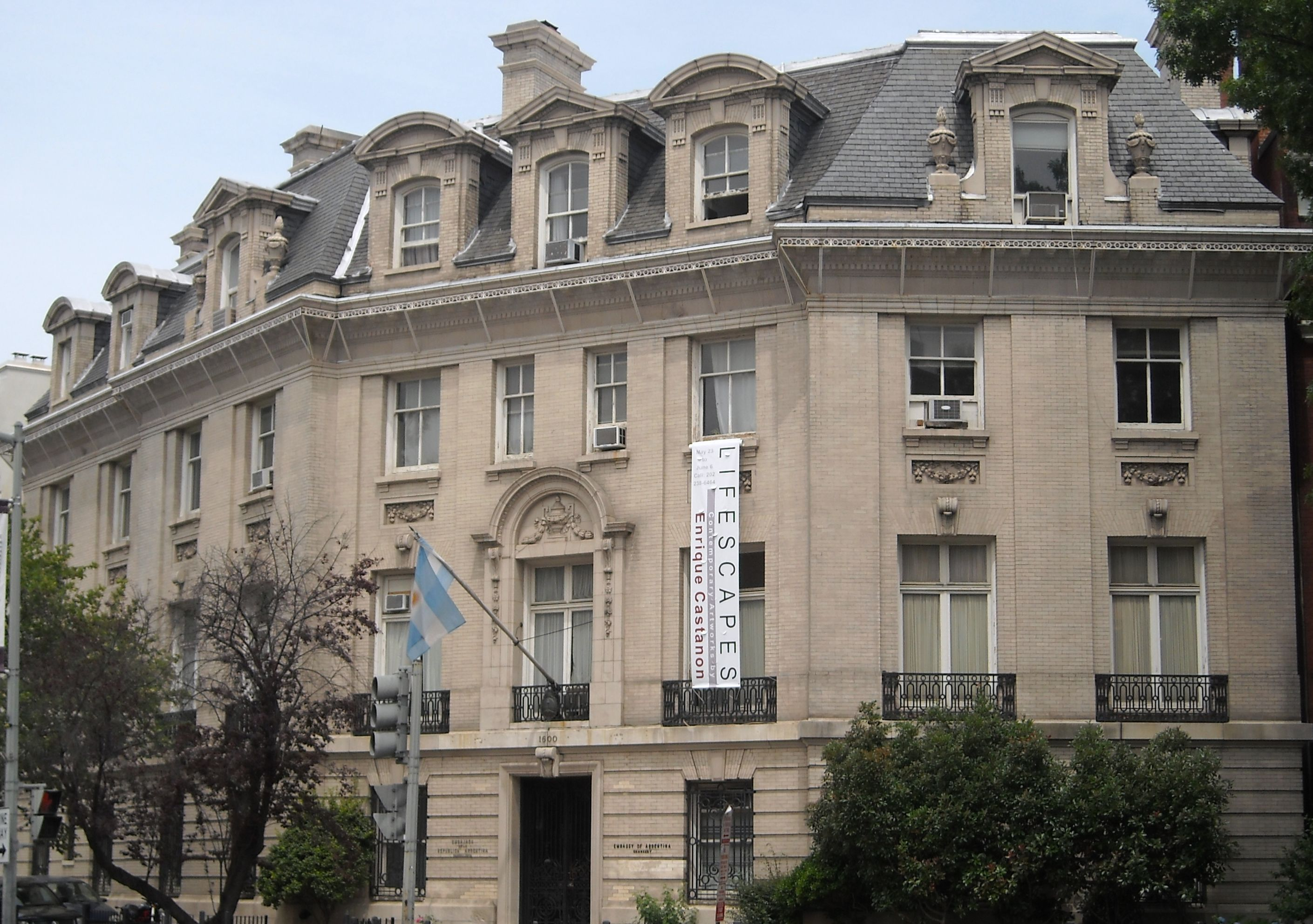 Embassy of Argentina, Washington, D C  - Wikipedia