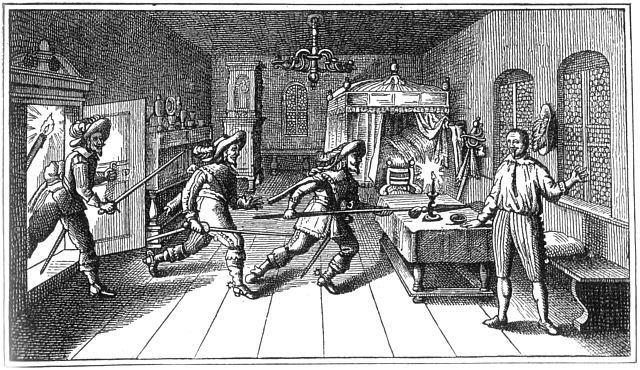 Killing of Albrecht von Wallenstein.