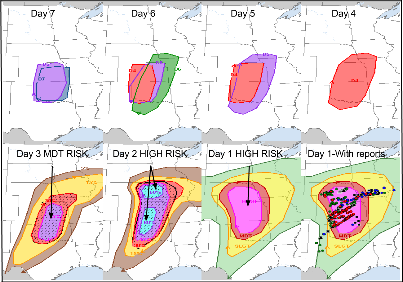 List of Storm Prediction Center high risk days - Wikipedia