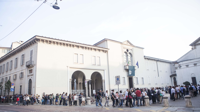 Facciata ingresso San Vittore Museo scienza e tecnologia Milano.jpg