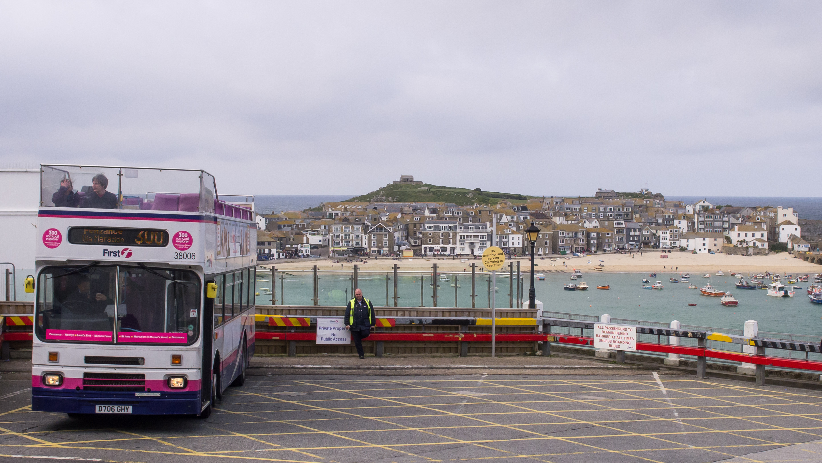 File First Devon Cornwall 38006 Arrived At St Ives On Route 300