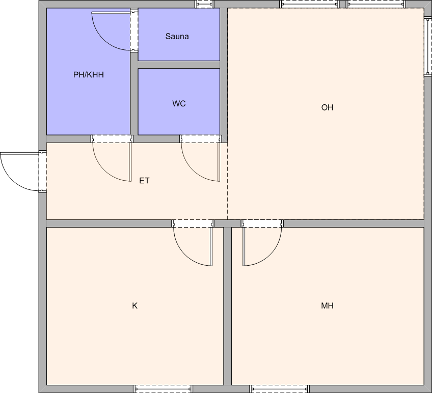 Floor Plan Of Rayna James Kitchen On Nashville